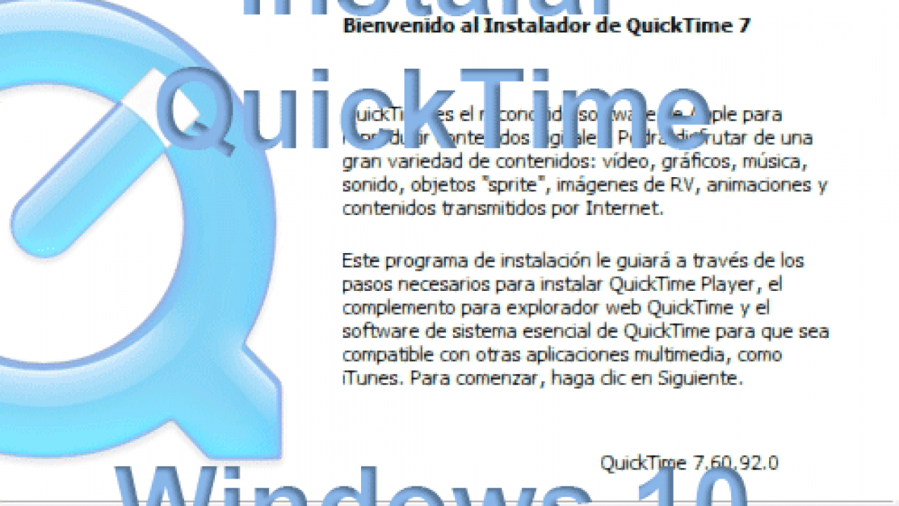 Quicktime Player For Windows 10