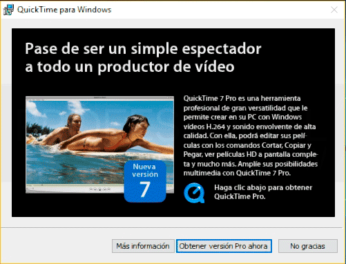 Instalar QuickTime Windows 10 paso05