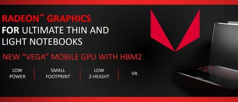 Photo of AMD presenta las GPUs para dispositivos portátiles Radeon Pro Vega