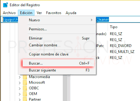Regedit Windows 10 p4