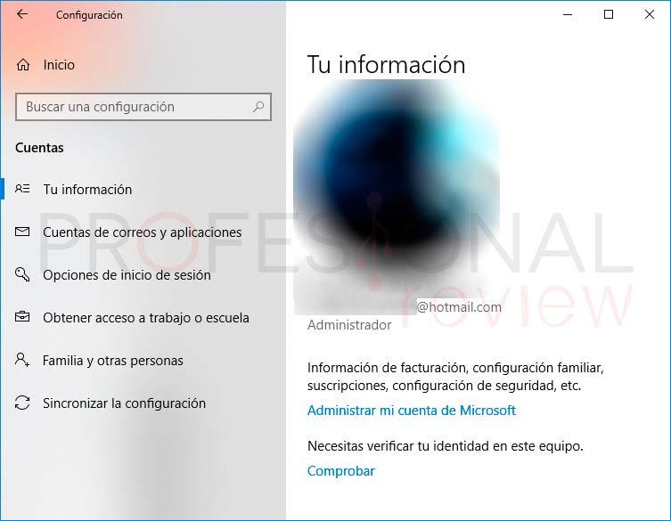Restablecer contraseña Windows 10 paso01