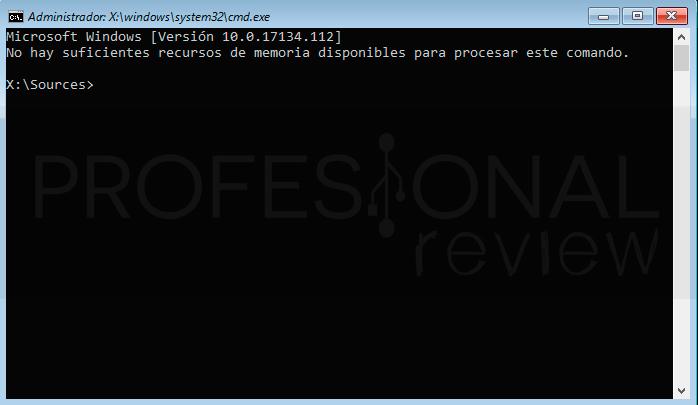 Restablecer contraseña Windows 10 paso18