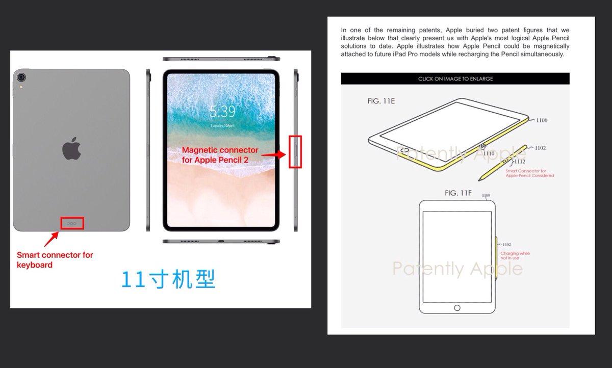 Se filtra una imagen del Apple Pencil 2