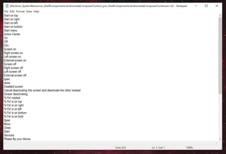 Se reavivan los rumores sobre Andromeda de Microsoft