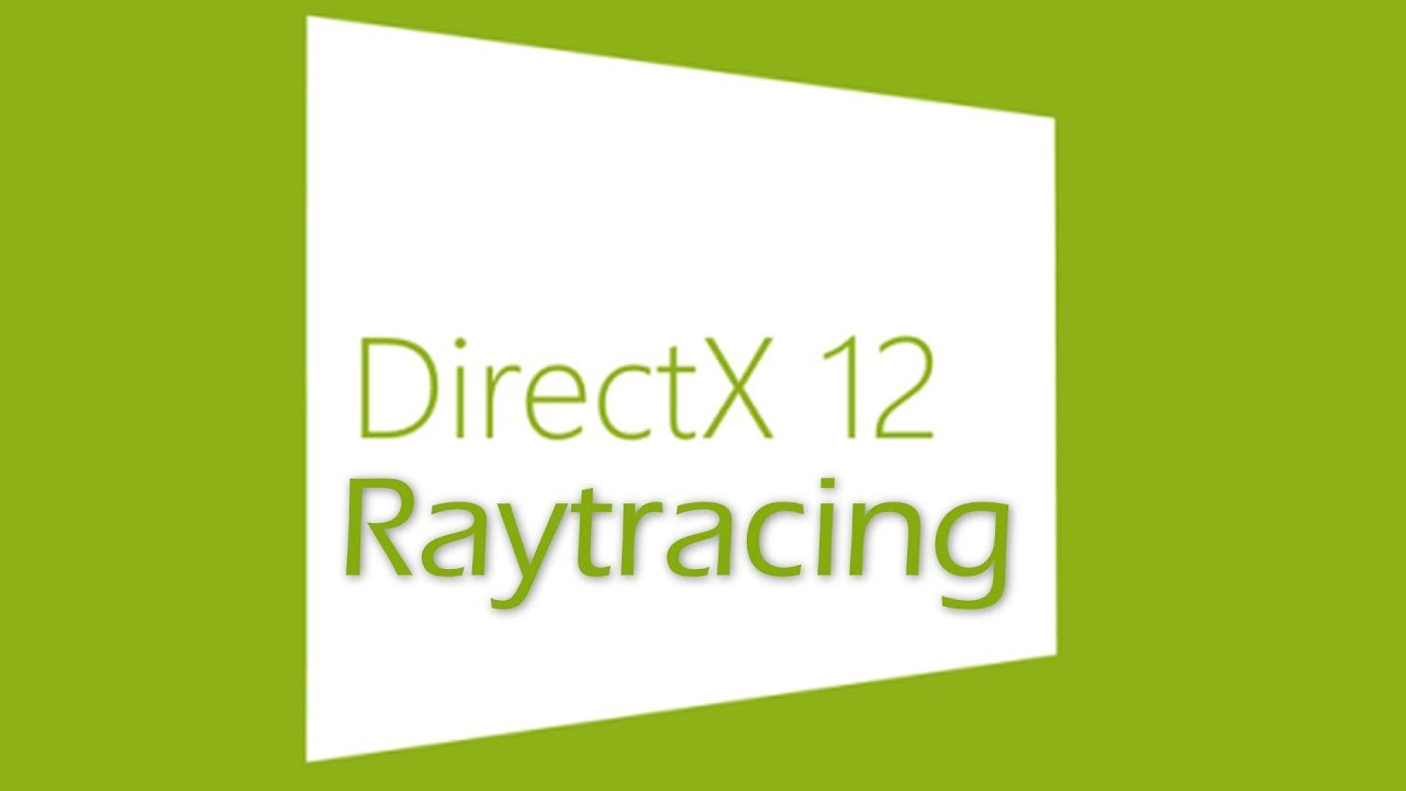 DirectX Raytracing llega a Windows 10