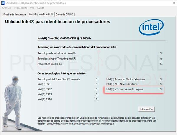 Activar virtualización en BIOS tuto01