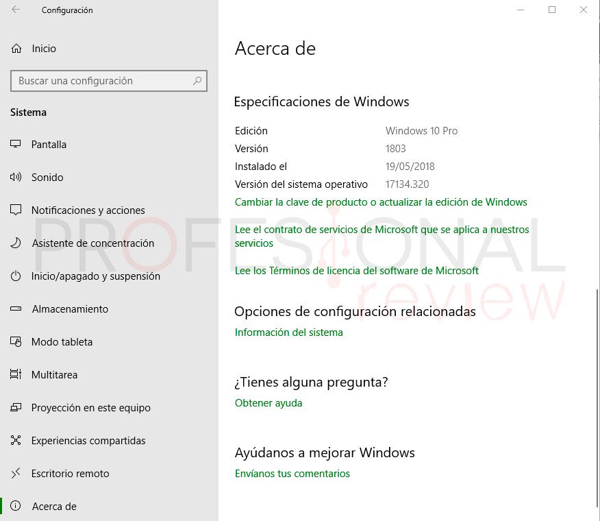 Última actualización Windows 10 paso02