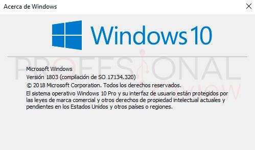 Última actualización Windows 10 paso03