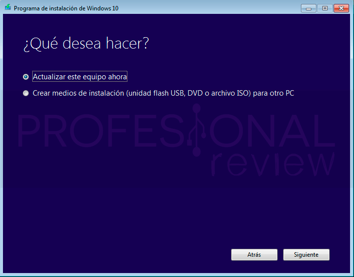 Actualizar Windows 7 a Windows 10 paso02