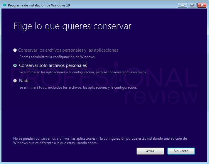 Actualizar Windows 7 a Windows 10 paso04