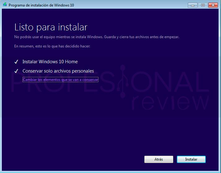 Actualizar Windows 7 a Windows 10 paso05