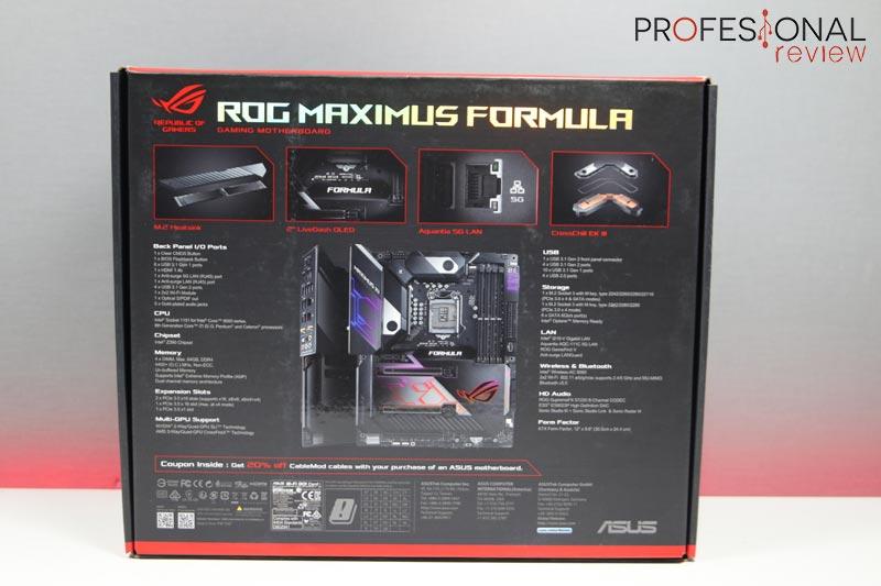 Asus Maximus XI Formula