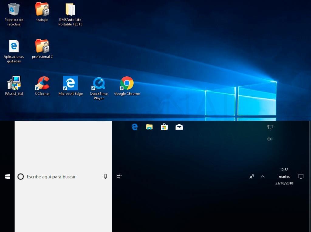 barra de tareas Windows 10 p11