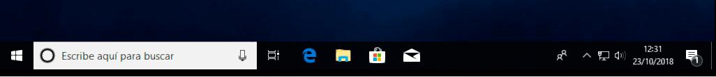 barra de tareas Windows 10 p2