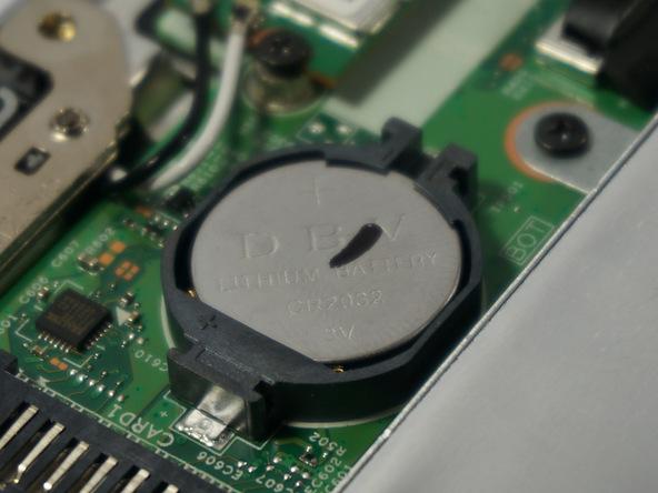 batería CMOS placa base