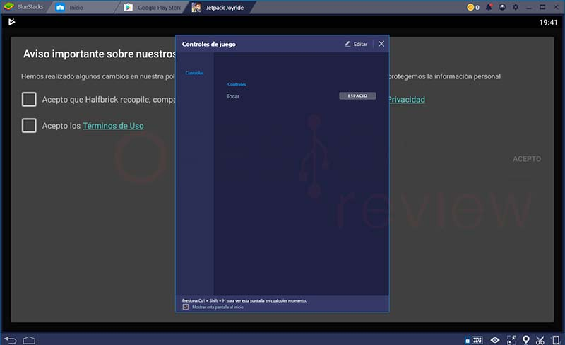 Bluestacks Windows 10 paso12
