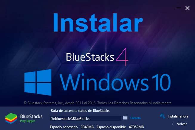 como descargar bluestacks para windows xp sin errores
