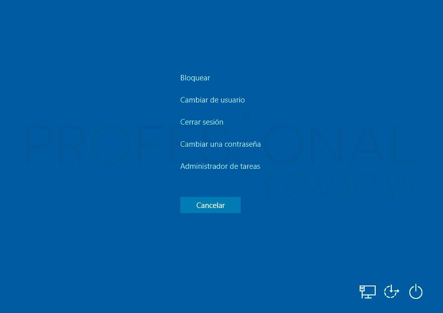 Cambiar de usuario en Windows 10 tuto01