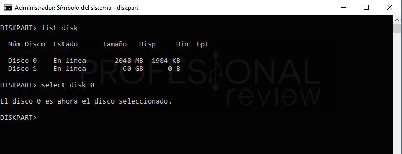 CHKDSK no está disponible para unidades RAW paso06