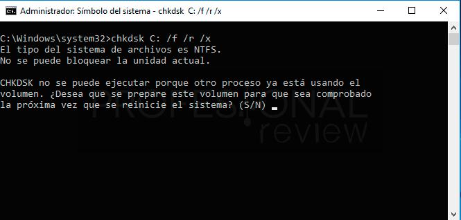 CHKDSK paso04