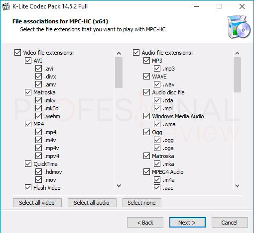 Mejores codecs para Windows 10 p01