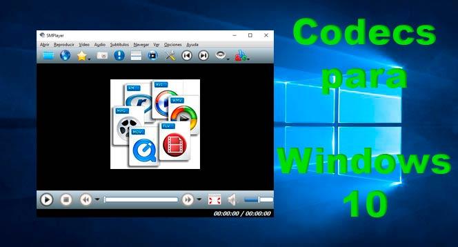 Mejores codecs para Windows 10
