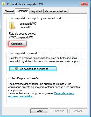 Compartir carpeta Windows 10 p13