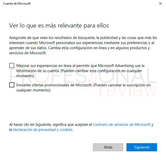 Control parental Windows 10 paso07