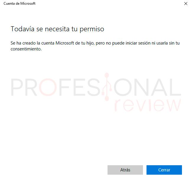 Control parental Windows 10 paso09