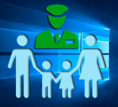 Control parental Windows 10