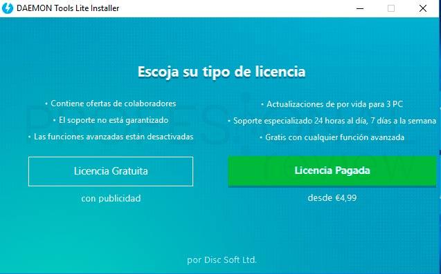 Daemon Tools Windows paso01