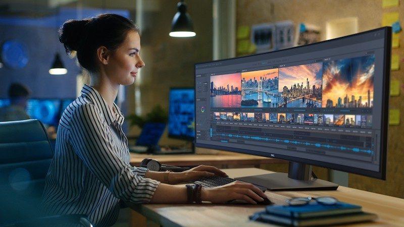 El nuevo monitor curvo de Dell es una pasada que pocos se podrán permitir