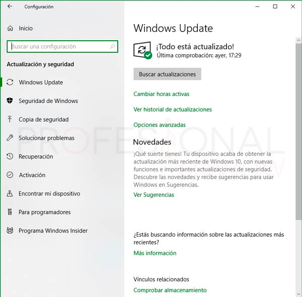 Desactivar actualizaciones Windows 10 p01