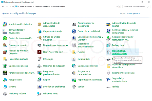 Desactivar actualizaciones Windows 10 p06