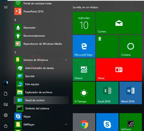 Desinstalar un programa Windows 10 paso04