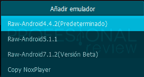 Instalar emulador Android para Windows 10 paso10