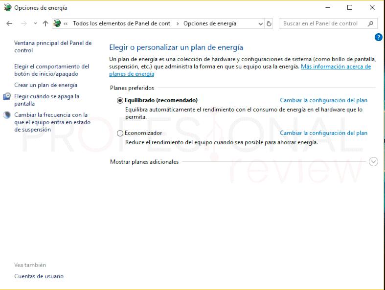 Hibernar Windows 10 p01