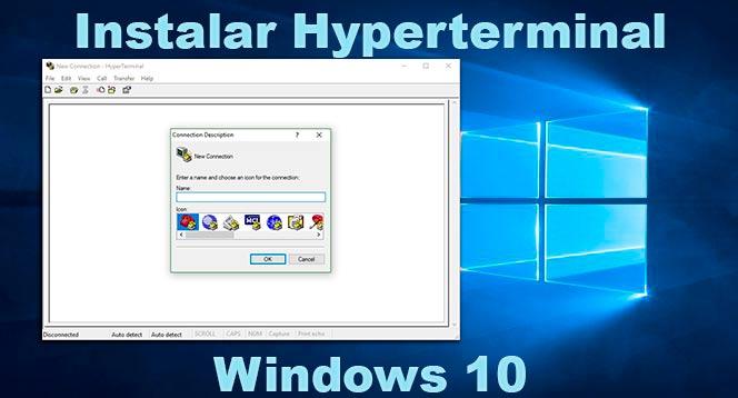 Hyperterminal en Windows 10