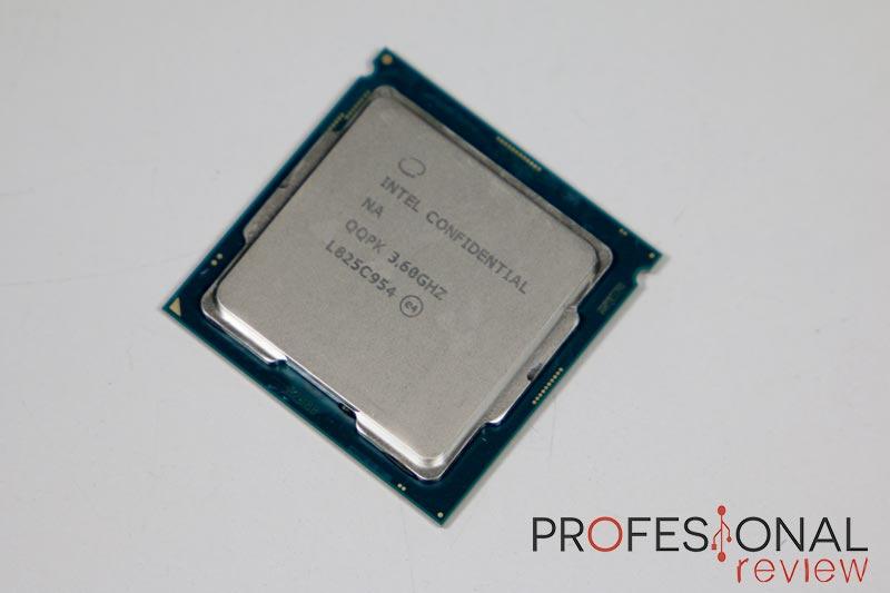 Intel Core i7 9700K análisis