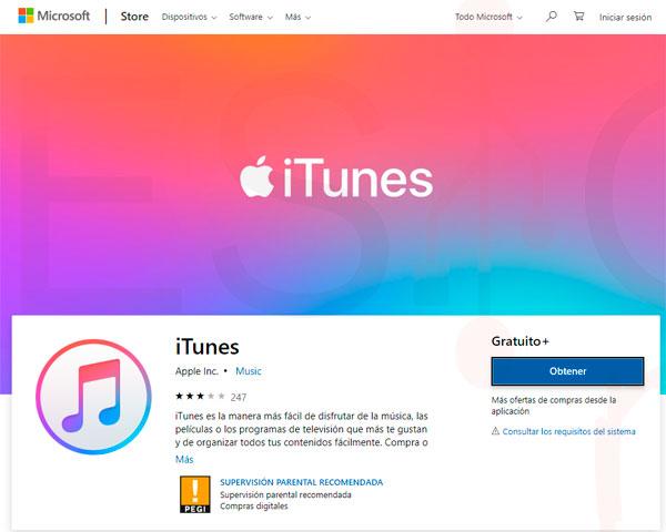 Instalar iTunes para Windows 10 paso02
