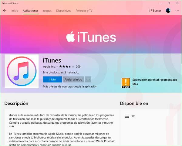 Instalar iTunes para Windows 10 paso03