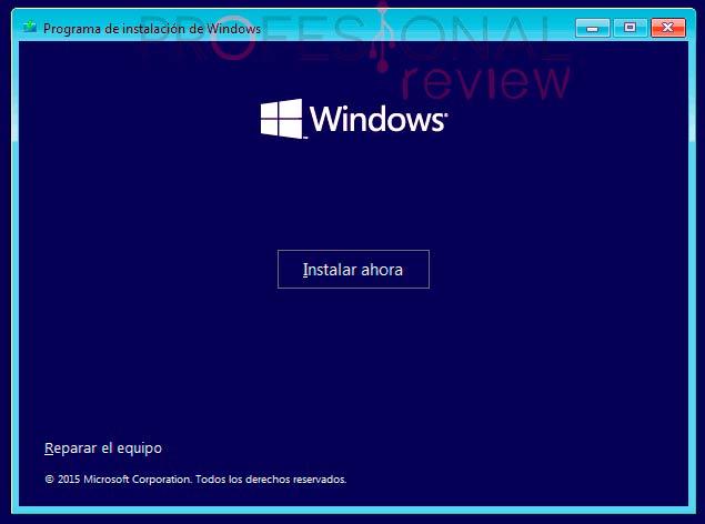 Instalar Windows 10 desde USB p07