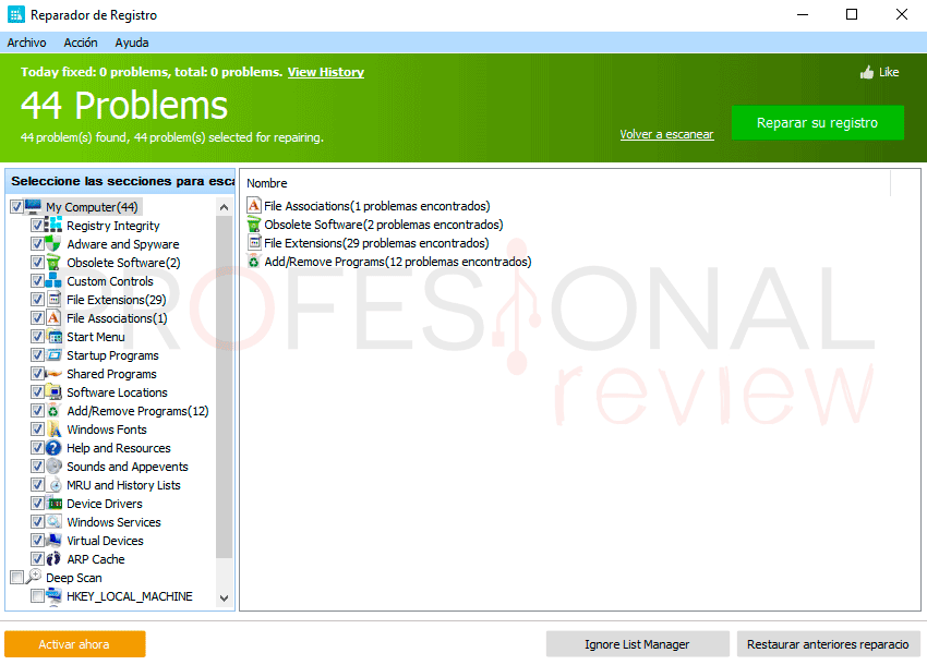 Limpiar registro Windows 10 paso04