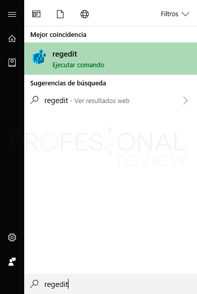 Limpiar registro Windows 10 paso01