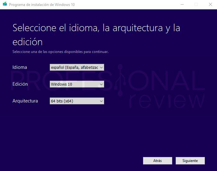 Media Creation Tool Windows 10 paso08