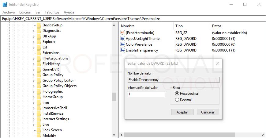 Personalizar menú inicio en Windows 10 paso 10