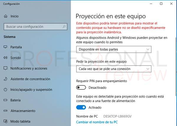 Miracast Windows 10 paso05
