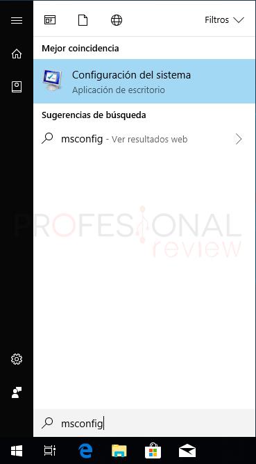 Modo seguro Windows 10 paso07