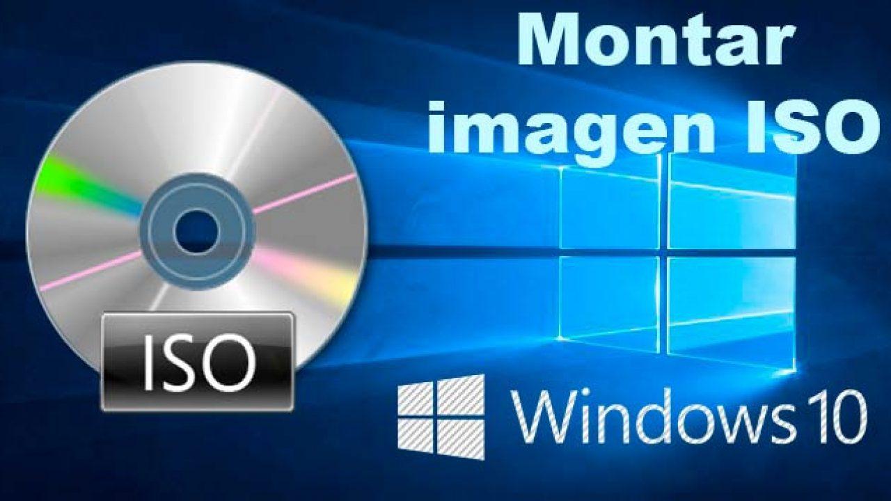 Cómo montar una imagen ISO de Windows 10 en rufus USB