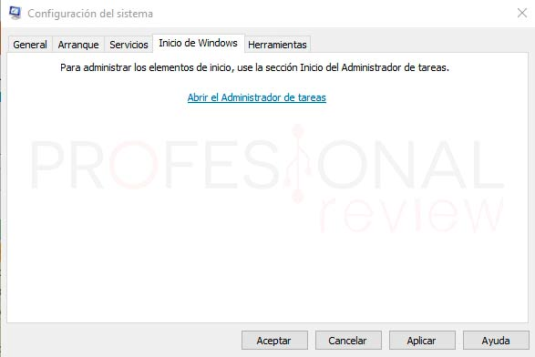 MSConfig Windows 10 p09
